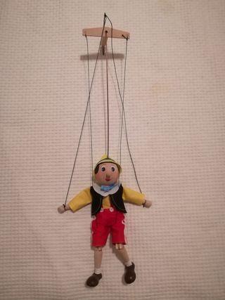 Marioneta de madera de Pinocho