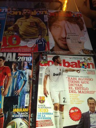 Lote revistas de Futbol (Don Balón + Extranjeras)
