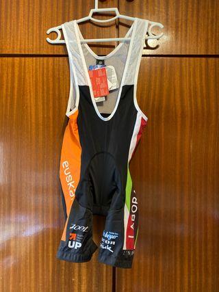 Pantalón integral corto de ciclismo Spiuk talla L