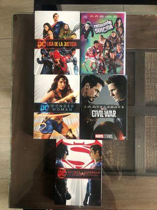 Lote películas edición coleccionista dc y marvel