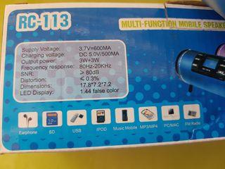 Altavoz LED Display. A estrenar.