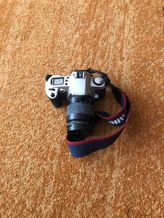 Cámara fotos canon réflex Eos 500N