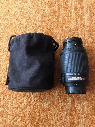 Objetivo Nikon 55-200 Dx-vr