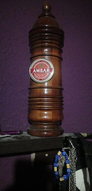 grifos de cerveza ambar antiguos