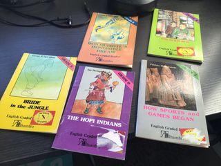 5 libros ingles facil