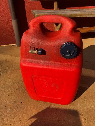 Depósito gasolina barca 22 litros