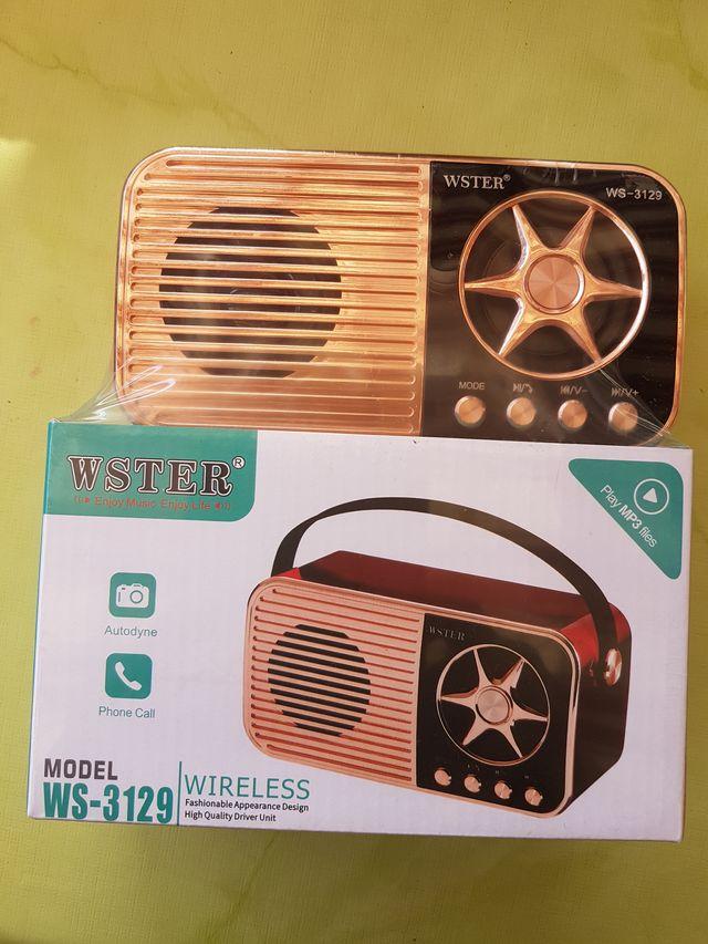 Radio Altavoz USB. Nuevo a estrenar.