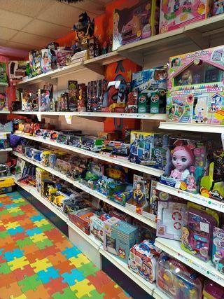 Liquidación de juguetes