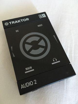 Tarjeta de sonido Traktor Audio 2