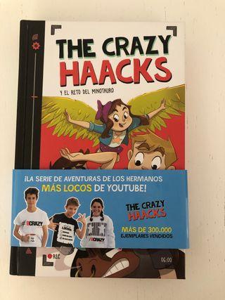 Libro de los Crazy Haacks y el RETO DEL MINOTAURI