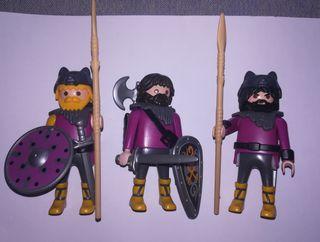 Playmobil lote bárbaros customs