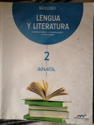 LIBRO DE LENGUA 2 BACHILLERATO