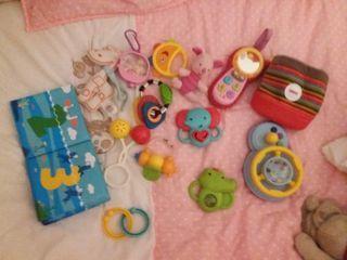 lote juguetes bebé Fisher Price