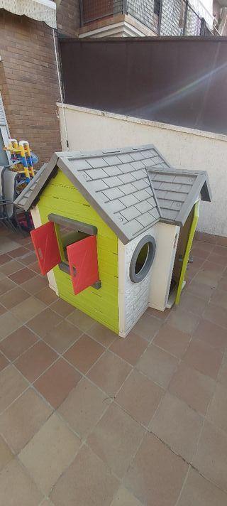 Casa infantil exterior smoby