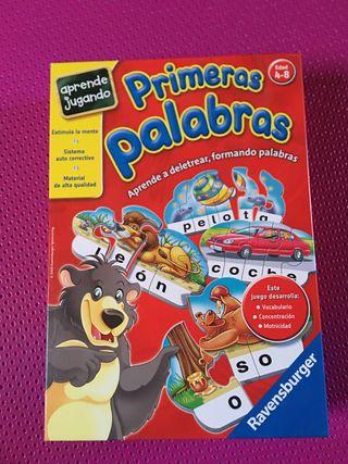 Juego de mesa: PRIMERAS PALABRAS