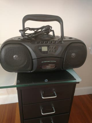 Radio Cassette, con CD