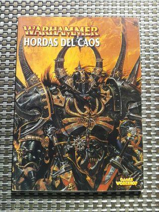 Warhammer codex Hordas del Caos