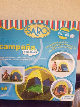 Tienda de campaña para la playa o piscina