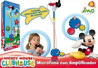 Karaoke Mickey mouse con efectos sonido