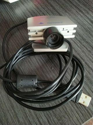 cámara PlayStation 2 ..eye toy