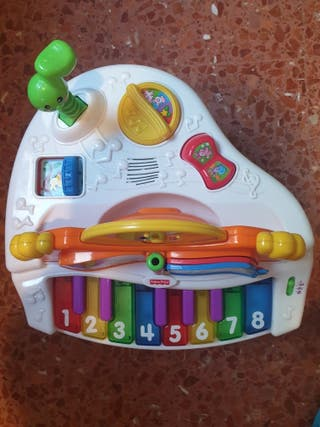 Piano infantil Fisher prace