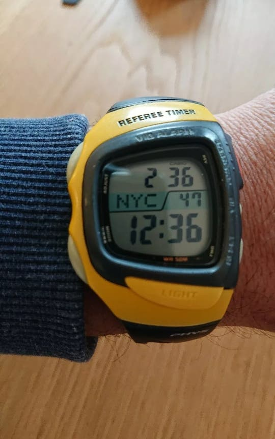 Casio vintage Rft-100 amarillo