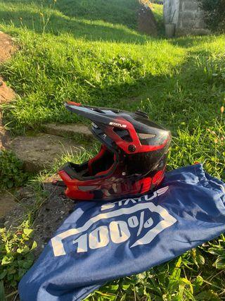 Casco integral , Moto ,descenso bicicleta