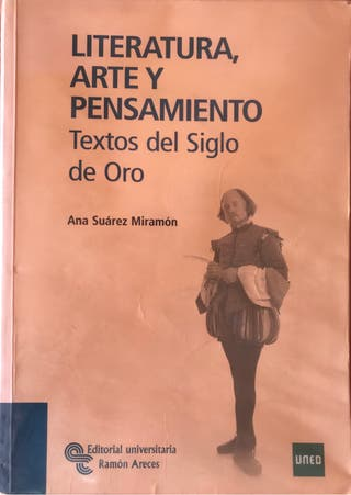 Manual Textos literarios del siglo de oro (UNED)