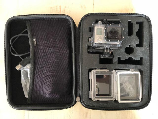 GoPro Hero 3 + gimbal estabilizador