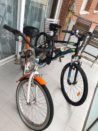 Bicicletas familiares Decathlon