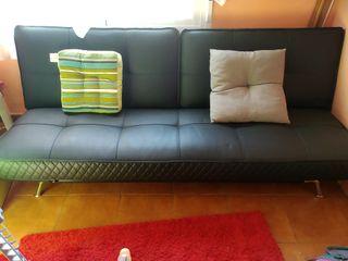 sofá 4 cama canapé de piel requinable