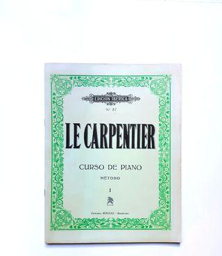 Le Carpentier Curso de piano Método I