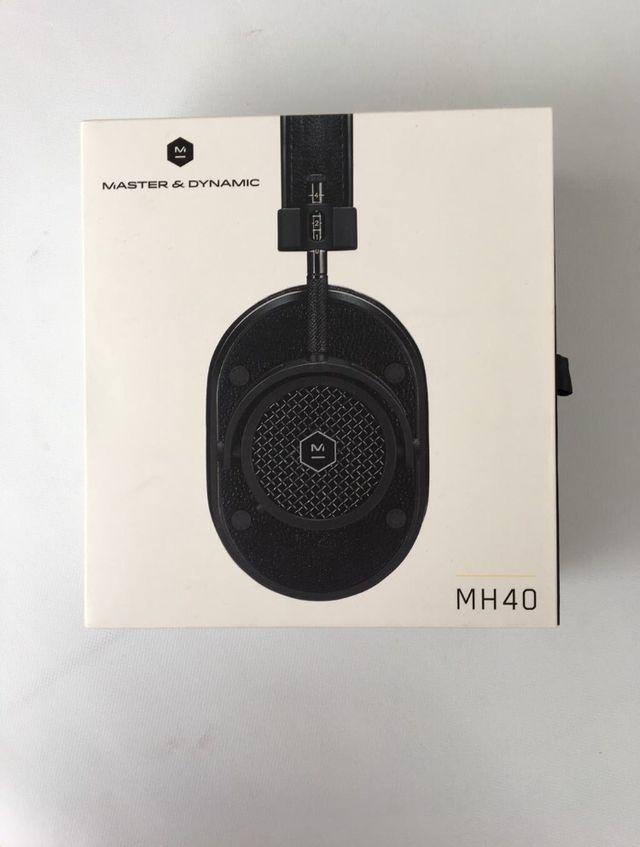 Análisis Auriculares Master & Dynamic MH40