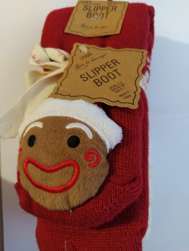 Calcetines Navideños Papá Noel (Talla 36-38)