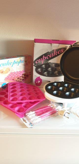 set repostería para cupcakes y cakepops