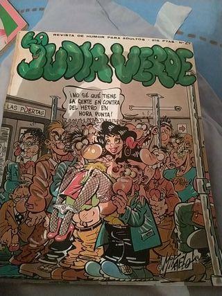comics judía verde