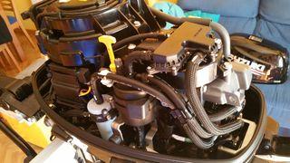 Motor Barco Fueraborda Suzuki Df-15 As 4 tiempos