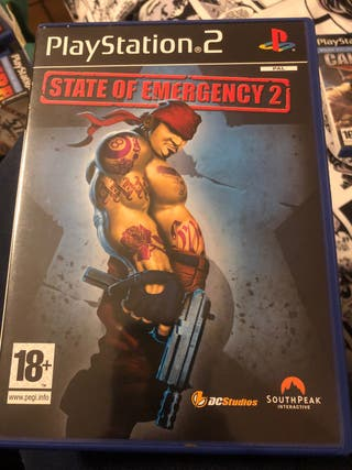 Juego ps2 STATE OF EMERGENCY 2
