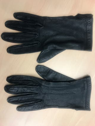 Guantes piel mujer