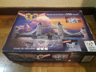 Puzzle 3D: Puente de la Torre + 590 Piezas