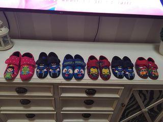 Zapatillas de ir por casa infantil