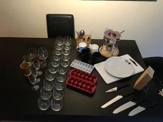 Cosas Para COCINA - vasos fondue cuchillos y mas