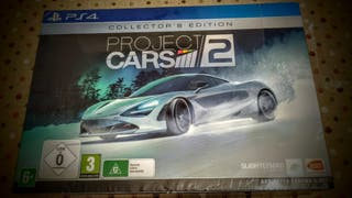 Project cars 2 PS4 NUEVO Collector's edition