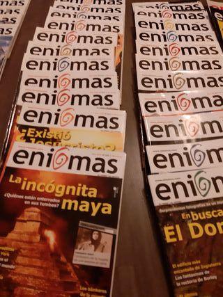 Revista ENIGMAS año XVIII al XXI