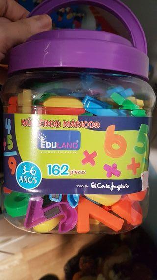 Números con imán (magnéticos)