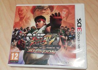 videojuego Street Fighter IV, 3d edition.