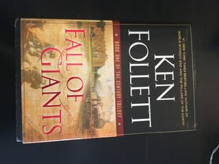 Ken Follet book - Fall Of Giants in ENGLISH