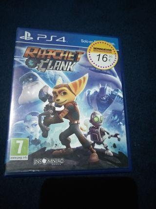 PS4 Ratchet Clank videojuegos