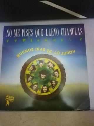 """DISCO : """" NO ME PISES QUE LLEVO CHANCLAS"""""""
