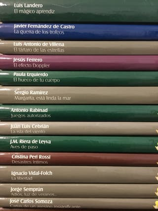 Colección narrativa contemporánea